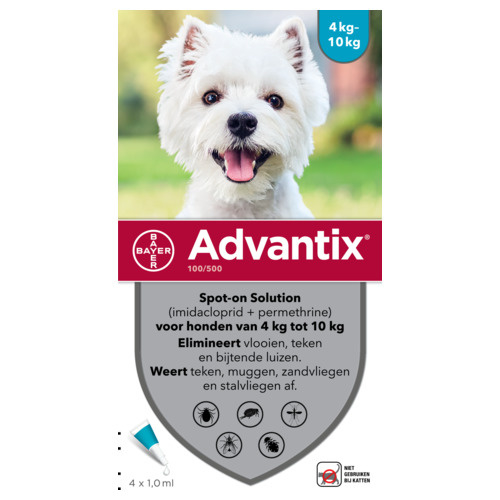 Bayer Advantix Hond 100