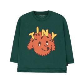 Tiny Cottons longsleeve tiny dog dark green/sienna