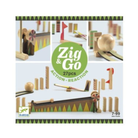 Djeco Zig & Go - 27 stukjes