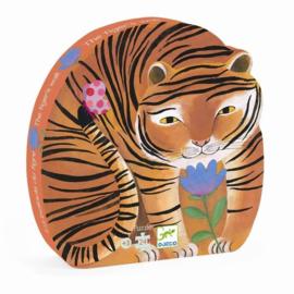 Djeco puzzel de tocht van de tijger - 24 stukjes