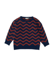 The Campamento gebreide sweater waves