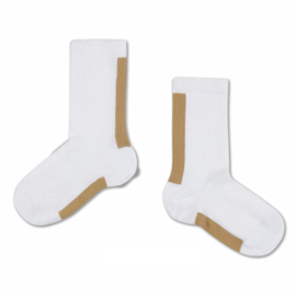 Repose AMS socks golden white