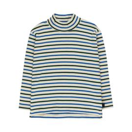 Tiny Cottons sleeve mockneck stripes