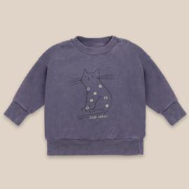 Bobo Choses baby sweater cat