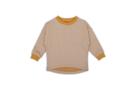 Monkind sweater Parallel beige | mt. 9/10 jr.