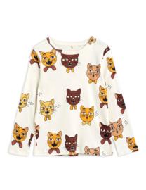 Mini Rodini longsleeve cat choir