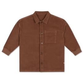 Repose AMS classic blouse chocolat brown