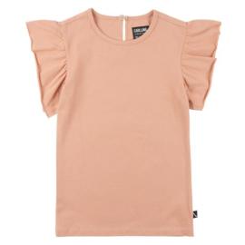CarlijnQ t-shirt ruffel Roze