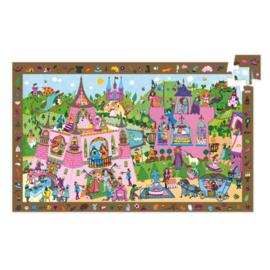 Djeco puzzel observatie prinsessen - 54 stukjes