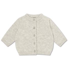 Repose AMS baby vestje light mixed grey
