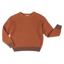 CarlijnQ gebreide sweater cinnamon