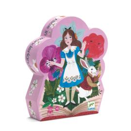 Djeco puzzel Alice in wonderland - 50 stukjes
