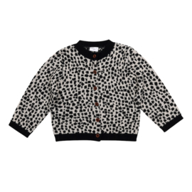 Maed for mini vest snow leopard