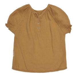 Maed for mini blouse caramel capybara