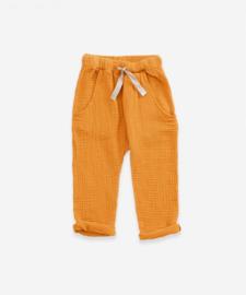 Play up broek geweven geel