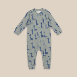 Bobo Choses jumpsuit all over zebras | Mt. 3/6 mnd