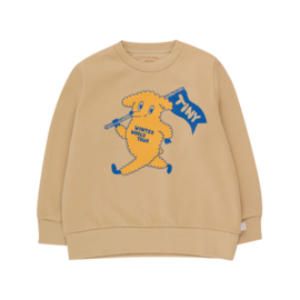 Tiny Cottons sweater tiny dog beige