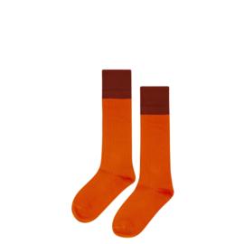 Mingo knie sokken Bitter chocolate