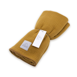 Nanami swaddle 120 x 120 honey