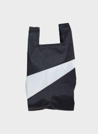 Susan Bijl the New shoppingbag Black & White bag | Mt. M
