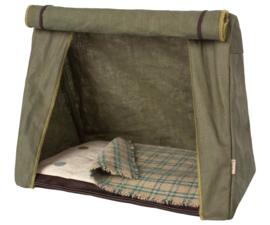 Maileg tent met matras en deken