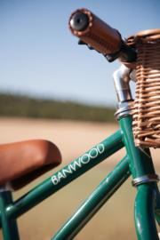 Banwood First Go balance loopfiets donkergroen