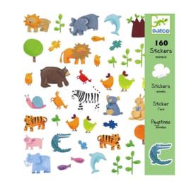 Djeco stickers dieren