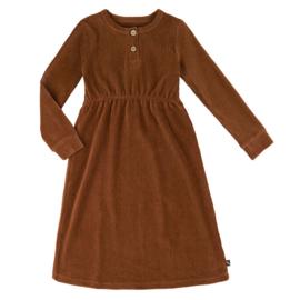 CarlijnQ jurk rib bruin