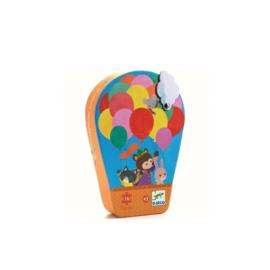 Djeco puzzel de heteluchtballon - 16 stukjes