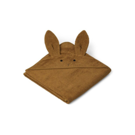 Liewood badcape Rabbit XL - olive green