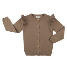 CarlijnQ vest met ruffles | Mt. 98/104