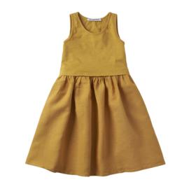 Mingo jurk mouwloos Spruce yellow