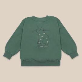Bobo Choses sweater cat