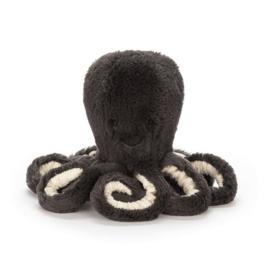 Jellycat Octopus Inky antraciet 49 cm