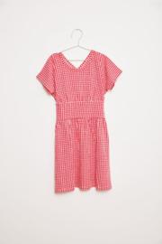 Fish & Kids jurk rood | Mt 10-11