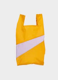 Susan Bijl the New shoppingbag Moutarde & Lavender bag | Mt. S/M