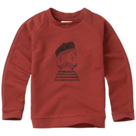 Sproet & Sprout sweater pierrot allover print