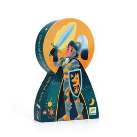 Djeco puzzel ridder - 36 stukjes
