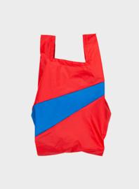 Susan Bijl the New shoppingbag Redlight & Blueback bag | Mt. M/L