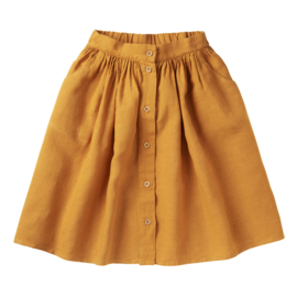Mingo linnen rok Spruce yellow