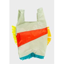 Susan Bijl the New shoppingbag fringe party red alert | Mt. L