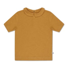 Repose AMS t-shirt collar sun gold