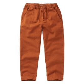 Mingo tapered broek dark ginger