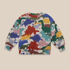Bobo Choses sweater all over dinos | Mt. 2/3 jr