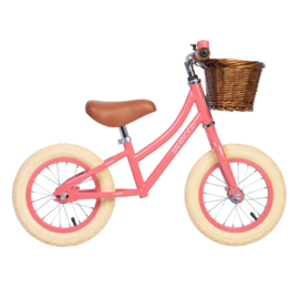 Banwood First Go balance loopfiets coral