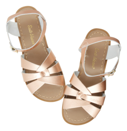Salt Water sandals original rose gold (kids)