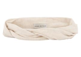 Atelies des femmes bandeau off white Fleuri