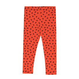 Tiny Cottons broek tiny flowers red/navy
