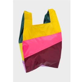 Susan Bijl the New shoppingbag party fluo pink | Mt. M/L