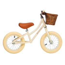 Banwood First Go balance loopfiets vanille